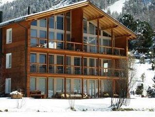 Ferienwohnung Pontresina fur 8 Personen mit 4 Schlafzimmern - Ferienwohnung