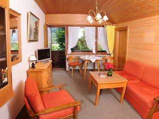 Ferienwohnung 'Zellerberg' (40 qm), Balkon, Kuche extra, WLAN, 1 Schlaf- und 1 W