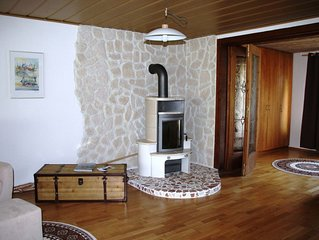 Fewo Fuchs (76 qm) Terrasse, 1 Schlaf-,1 Wohn-Schlafzimmer, offene Kuche, max. 4