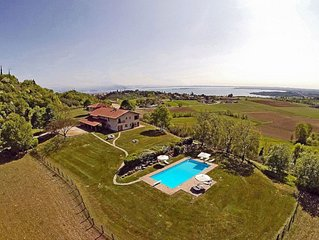 Padenghe - Villa Monte Croce - Appartement 3 - Urlaub am Gardasee