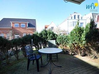 Moderne Borkumer Ferienwohnung mit zwei Terrassen und Garten!