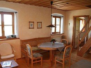 Ferienwohnung Margerite, 50 qm Obergeschoss, 2 separate Schlafzimmer
