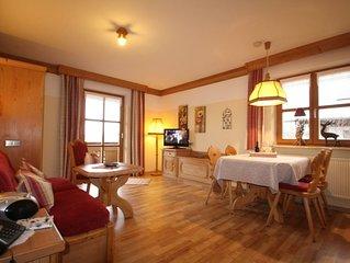 (3) Zwei-Raum-Ferienwohnung 42qm, Extra-Schlafzimmer, Kuche, Balkon, Bergblick