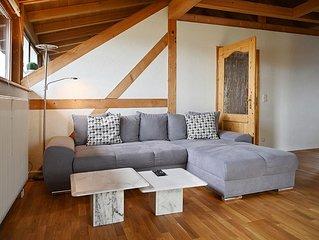 Ferienwohnung Bodensee mit 85qm, 2 Schlafzimmer fur max. 4 Personen