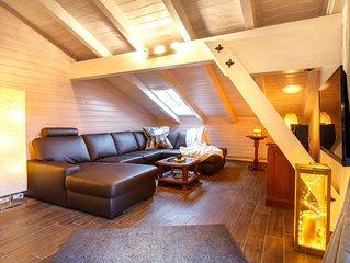 Ferienwohnung Unternberg -65 qm- 1 sep. Schlafzimmer, 1 Wohnraum, Balkon, max. 2