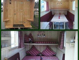 Rusikal übernachten im Schäferwagen - ein etwas anderer Urlaub!