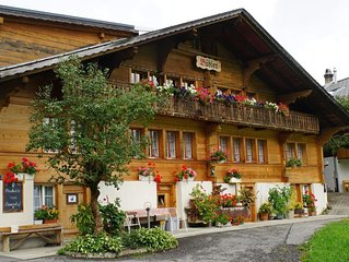 Ferienhaus Grindelwald für 2 - 5 Personen mit 3 Schlafzimmern - Bauernhaus