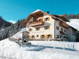 Apartment Unterrainer Hof  in Geiselberg - Olang, Dolomites - 4 persons, 2 bedr