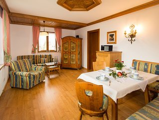 Ferienwohnung 'Kienberg' (51 qm), Sudostbalkon, Kuche extra, WLAN, 1 Schlaf- und