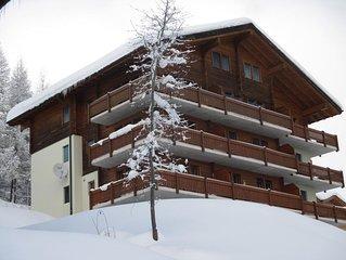 Ferienwohnung Bellwald fur 4 Personen mit 2 Schlafzimmern - Ferienwohnung