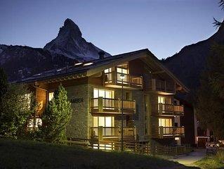Ferienwohnung Zermatt fur 6 Personen mit 3 Schlafzimmern - Ferienwohnung