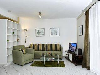 FeWo Schlosssee, 62 qm Erdgeschoss, 1 separates Schlafzimmer