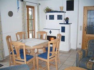 Ferienwohnung (115qm), Balkon, Terrasse, Kuche extra, 3 Schlaf- und 1 Wohnzimmer