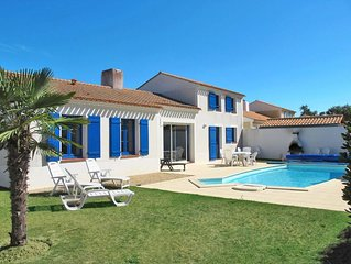 Vacation home Domaine de Vertmarines  in St. Jean - de - Monts, Vendee - 6 pers