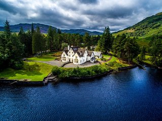 Lochside Cottage, waterside, pet friendly, heart of Loch Lomond National Park