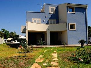 Villa a 800 mt. dal mare con piscina, Arenella Siracusa, piano terra