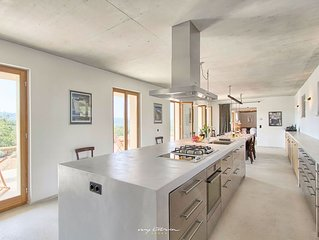 Elegant architect Villa with saltwater pool