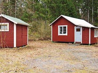 1 Zimmer Unterkunft in Enköping
