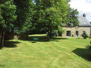 belle maison en pierres avec grange sur terrain de 4000 m2