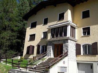 Ferienwohnung Pontresina fur 4 Personen mit 2 Schlafzimmern - Ferienhaus