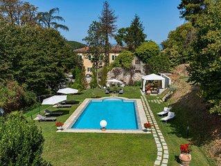 Villa Vorno è una splendida villa vicino Lucca, con piscina privata, aria condiz