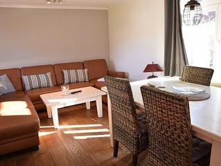 3-Zimmer-Appartement mit ca. 65 qm liegt zu ebener Erde mit separatem Eingang.
