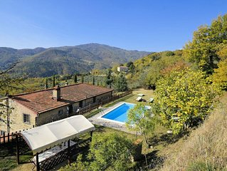 Wonderful private villa for 17 people with private pool, WIFI, TV, pets allowed