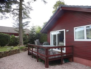 Heron Lodge, edge of Mabie Forest with breathtaking surrounding views 4G Wifi