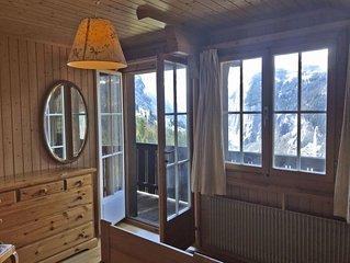 Ferienwohnung Plein Soleil in Wengen - 4 Personen, 2 Schlafzimmer
