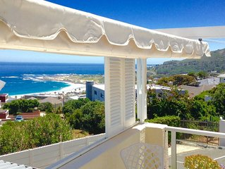 Camps Bay Cottage with Sea Views and Pool and Free WI FI
