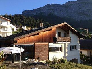 Ferienhaus Flims Dorf für 12 Personen mit 4 Schlafzimmern - Ferienhaus