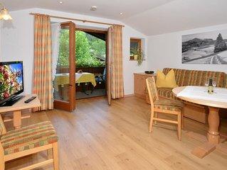 (6) Ferienwohnung 42 qm 2-4 Personen, Dusche/WC, Balkon