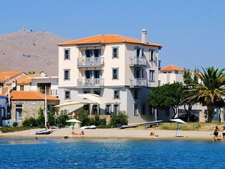 Limnos Experience - luxury beachfront apartment for six