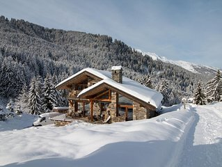 Chalet unique skis aux pieds - Chalet ski-in ski-out !!