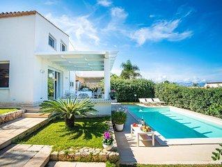 Villa Isotta, tre camere da letto, può ospitare fino a 5 persone
