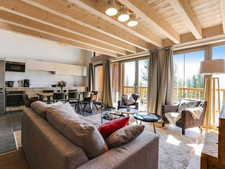 Wifi, 350m du centre station, vue montagne, parking, television, casier a ski, 7