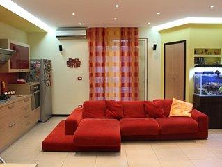 Casa moderna in Citta Wi-Fi SICILYTRANSFERT