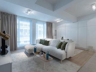 Stassart I - Deux Chambres Appartement, Couchages 4