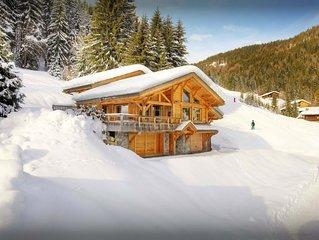 Chalet 5* skis aux pieds pour 8 avec sauna et salle de sport - OVO Network