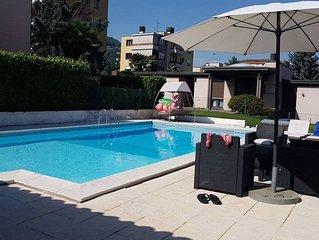 Exceptionnel apt avec accès piscine