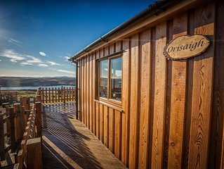 Self catering holiday chalet Orisaigh