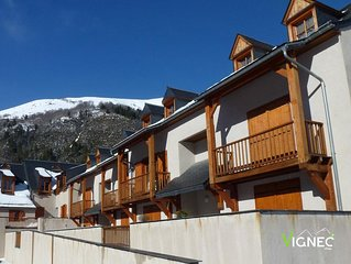 Wifi, parking, television, casier a ski, 40m2, Saint Lary Soulan