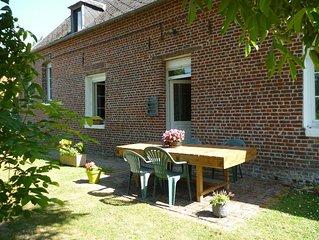 Beauvoir-Wavans : dans le pays des 7 Vallees maison pour 4 personnes.