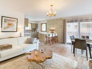 Appartement de prestige spacieux et chaleureux, proche du centre et des remontee