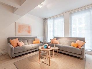 Stassart II - Deux Chambres Appartement, Couchages 4