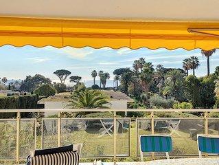 Terrasse vue mer, proche plages, piscine 258L/TVLV