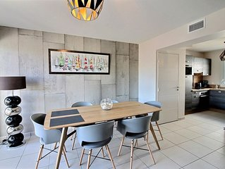 Dans résidence neuve et sécurisée, pavillon pour 6 personnes, idéal famille Réf.