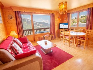 Bel appartement Meribel 50m telesiege de Morel !