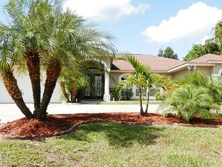 GRAB A LAST MINUTE BARGAIN! Fab - 4 bed 3 bath home, own secluded heated pool
