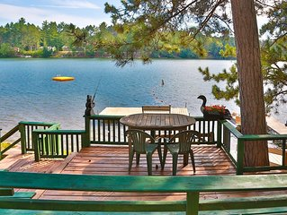 Cottage 5 - Hiller's Pine Haven - Southern exposure overlooking West Bay!